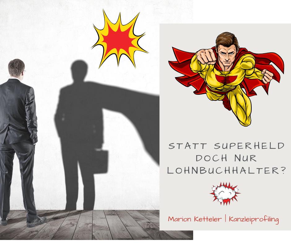 Das sollten Sie niemals in Ihre Stellenanzeige schreiben. Statt Superheld doch nur Lohnbuchhalter?